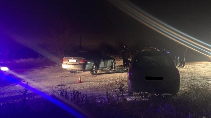 В Волгограде трое маленьких детей ранены в аварии