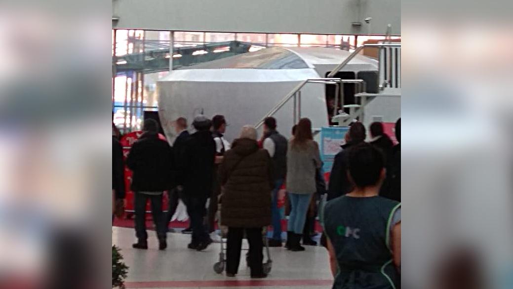 Во время инцидента в авиатренажёре находились посетители — они не пострадали