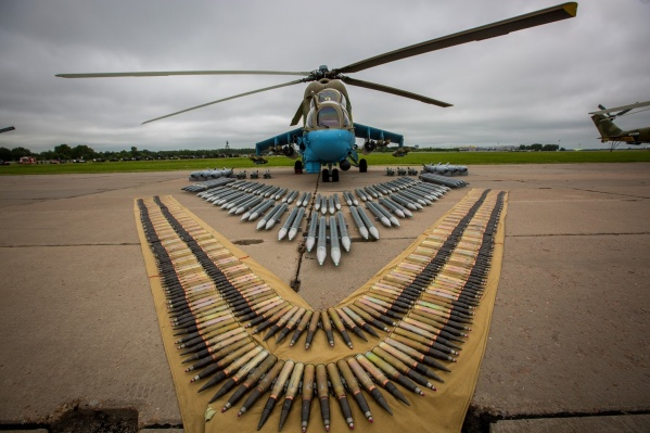 Форум «Армия-2019» проходит с 28 по 30 июняна военном аэродроме 337-го отдельного вертолётного полка в Оби