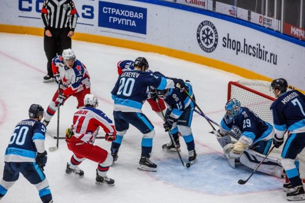 Сейчас «Сибирь» занимает третье место в турнирной таблице Восточной конференции КХЛ