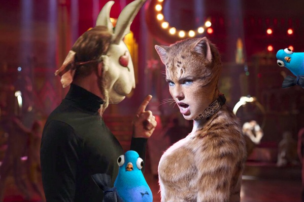 В январе на широких экранах будет много котиков и один заяц