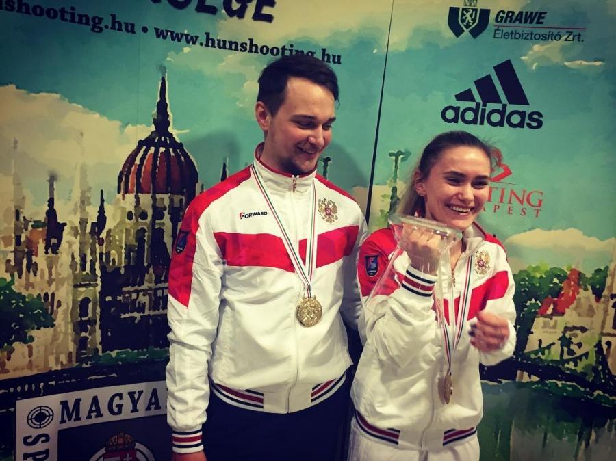 Вдовина иМасленников выиграли чемпионат Европы смировым рекордом