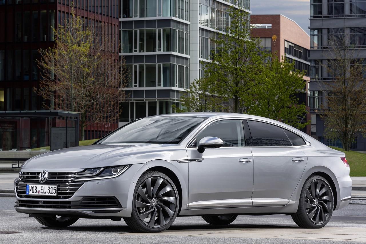 Volkswagen Arteon пришёл на смену Passat CC