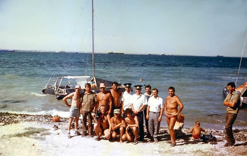 За шесть лет моряки на катамаранах доплыли из Свердловска до Барселоны