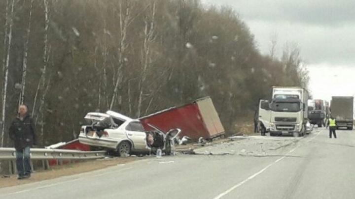 Две аварии на трассе М-5 в Башкирии: есть пострадавшие