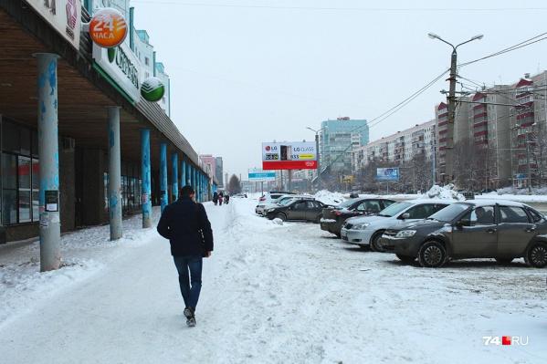Выделенки сначала сделают на Комсомольском проспекте