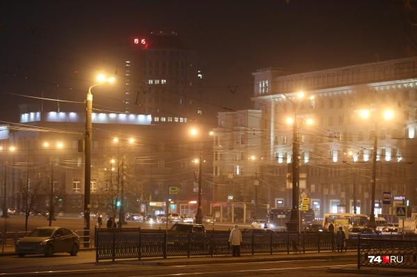 Накануне вечером даже в центре Челябинска было нечем дышать