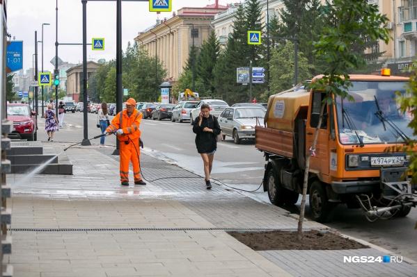 На заседании рабочей группы Горсовета огласили сумму контракта на уборку дорог от пыли