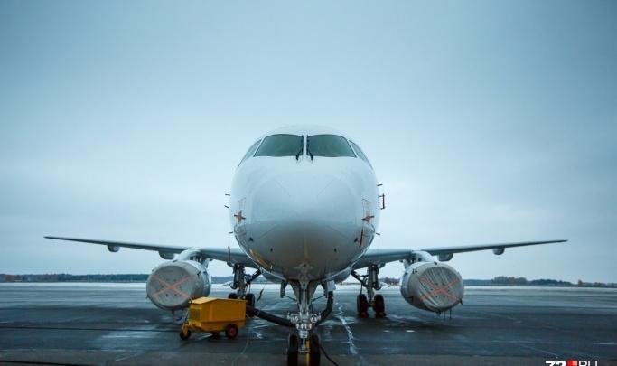Самолет с тюменцами на борту экстренно приземлился в Перми