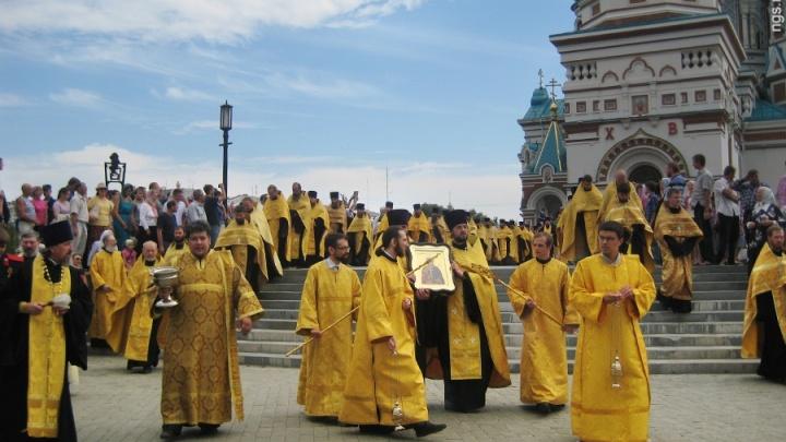 Центр Омска перекроют из-за крестного хода