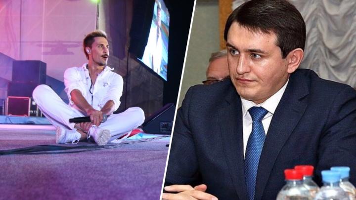 Полицию попросили наказать Диму Билана за пьяный концерт в Самаре