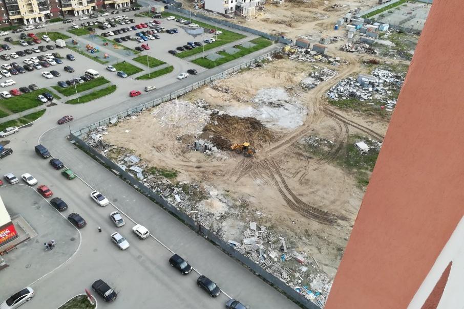 На этом участке начнётся строительство школы