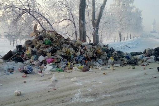 Еще до Универсиады ситуация с мусором в Красноярске остается катастрофичной