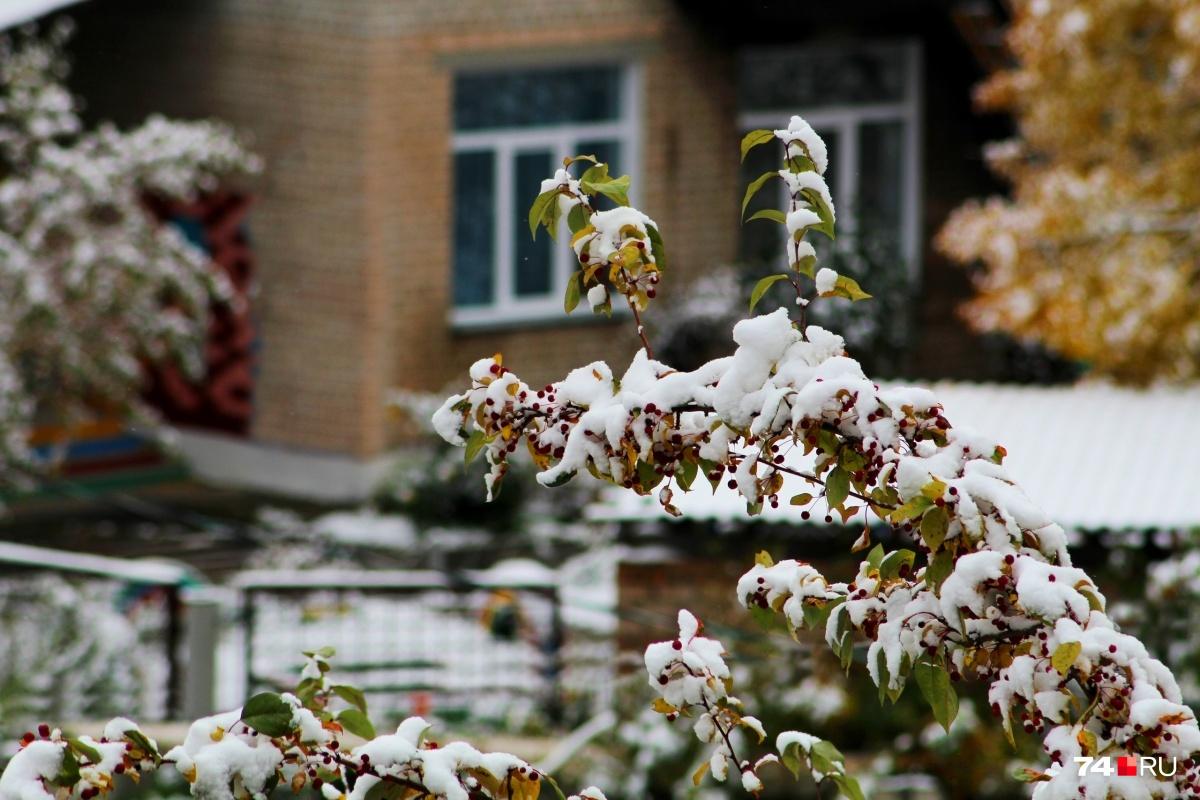 Вотдельных районах Челябинской области температура опустится до -21 градуса