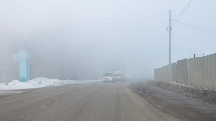 В регионе гололедицу сменит туман