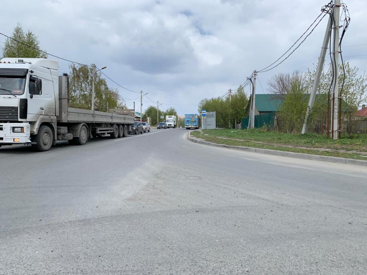 По Фадеева (на фото) можно будет добраться до Гребенщикова по нормальной дороге через железнодорожный переезд