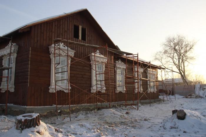 На улице Большевистской сохранилось одно из старейших зданий Новосибирска