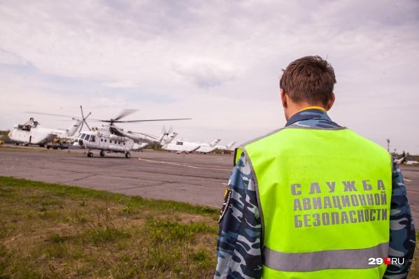 В авиапарке 2-го авиаотряда сейчас вертолеты Ми-8, Ми-26, самолеты Ан-2 и Л-410