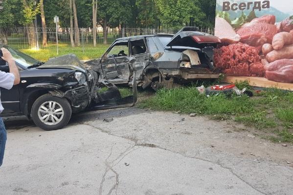 В ГИБДД сообщили, что оба водителя были трезвыми
