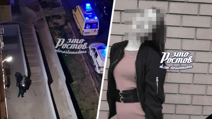 В Ростове на Заводской из окна многоэтажки выпала девушка