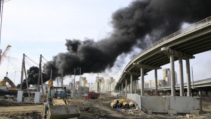 Прокуратура потребовала наказать виновников пожара на стройке конгресс-холла в Челябинске
