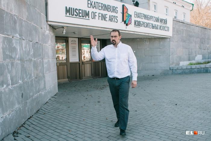 Никита Корытин надеется, что управление госохраны откажется сокращать границы вокруг здания музея
