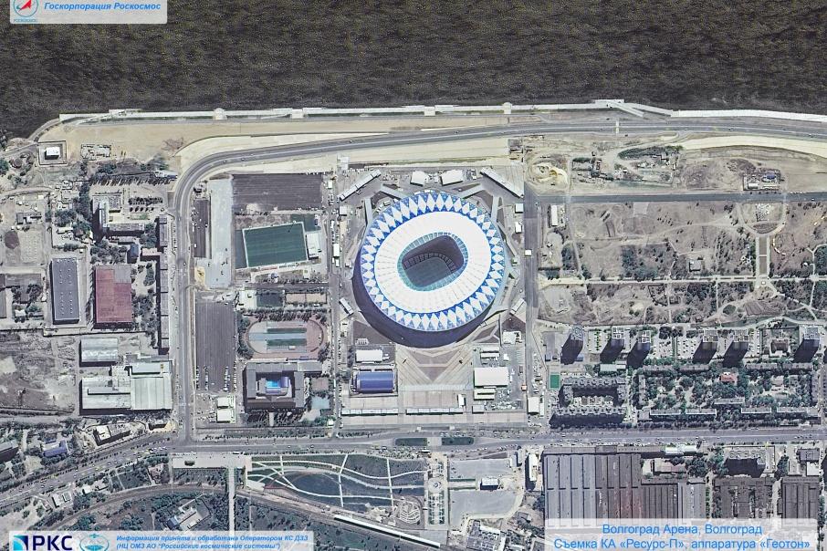 Волгоградский стадион выглядит самым ярким