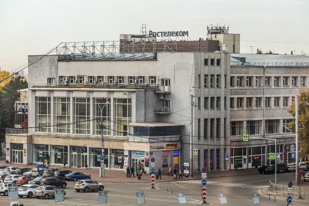Новобазарная площадь занимала практически всю центральную часть современного Новосибирска