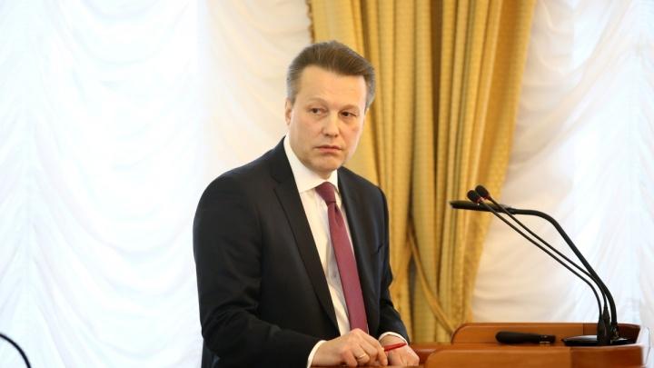 Ушел в отставку замгубернатора— директор департамента экономического развития Константин Ермаков