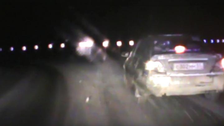 В Омске полицейские после погони со стрельбойзадержали пьяного водителя