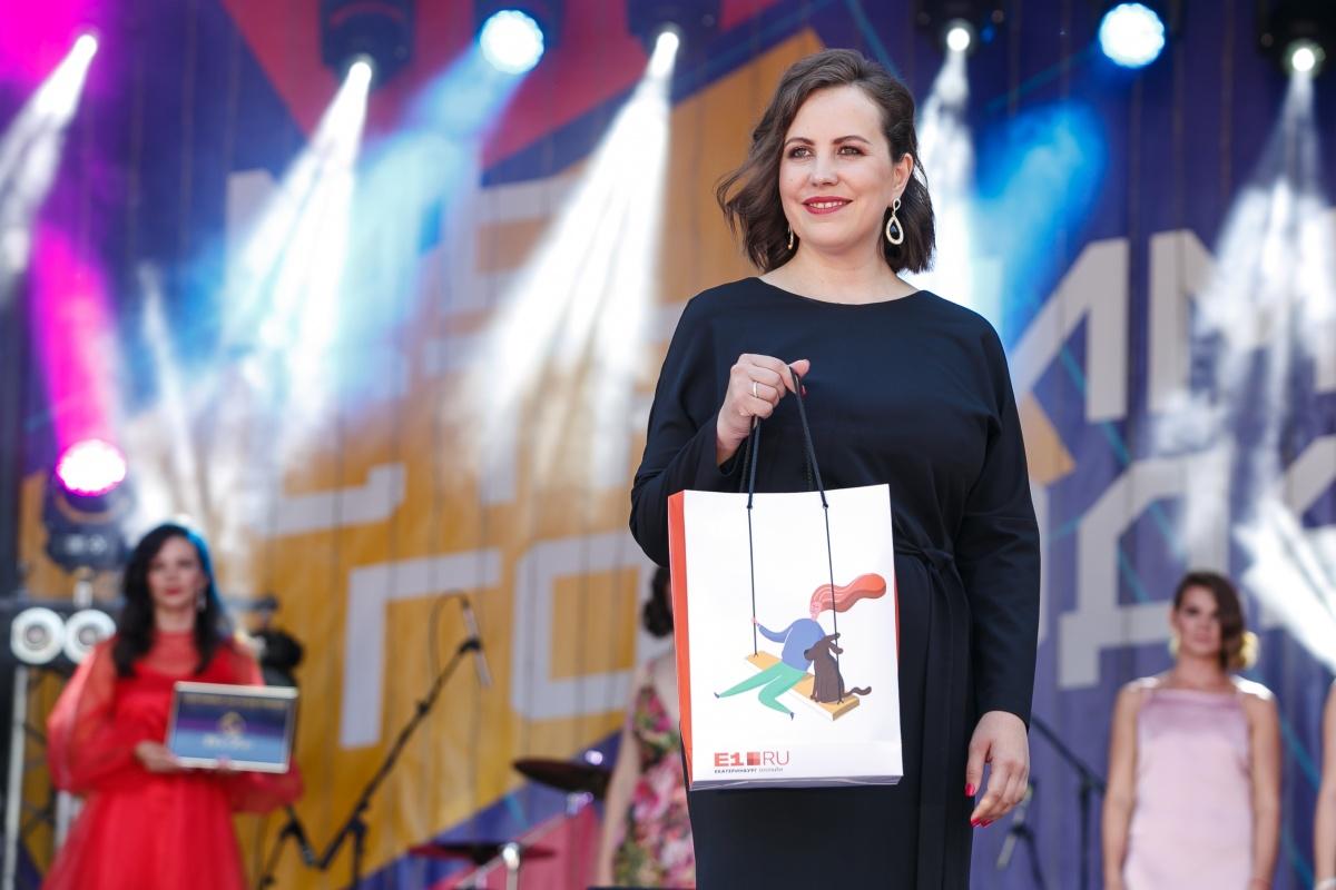 А Ольга Хитрова стала победительницей номинации «Миссис интернет»
