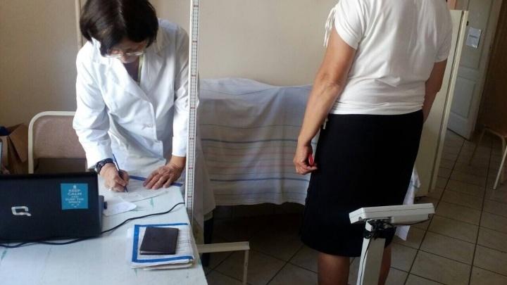 Рядом с мэрией Омска открыли бесплатный кабинет коррекции веса