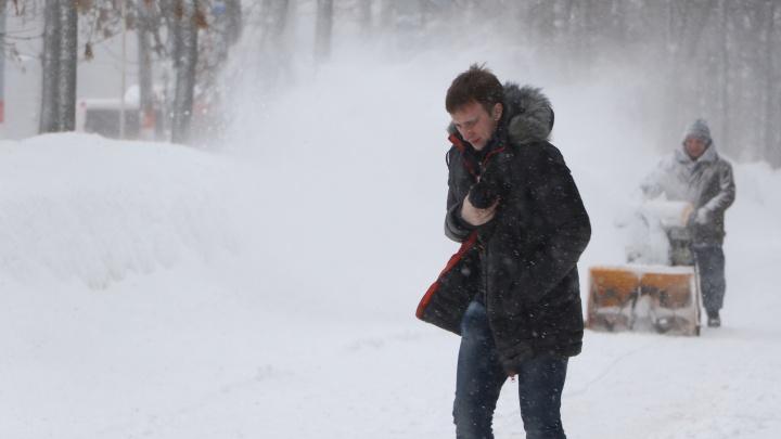 Экстренное предупреждение: в Нижний Новгород пришла метель