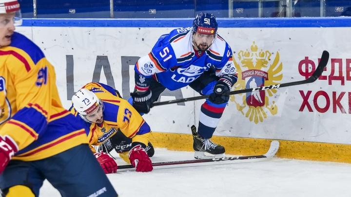 Шестая победа подряд: тольяттинская хоккейная «Лада» обыграла «Химик»