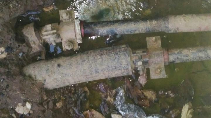 Жителей деревни Афонино заливало горячей водой все праздники