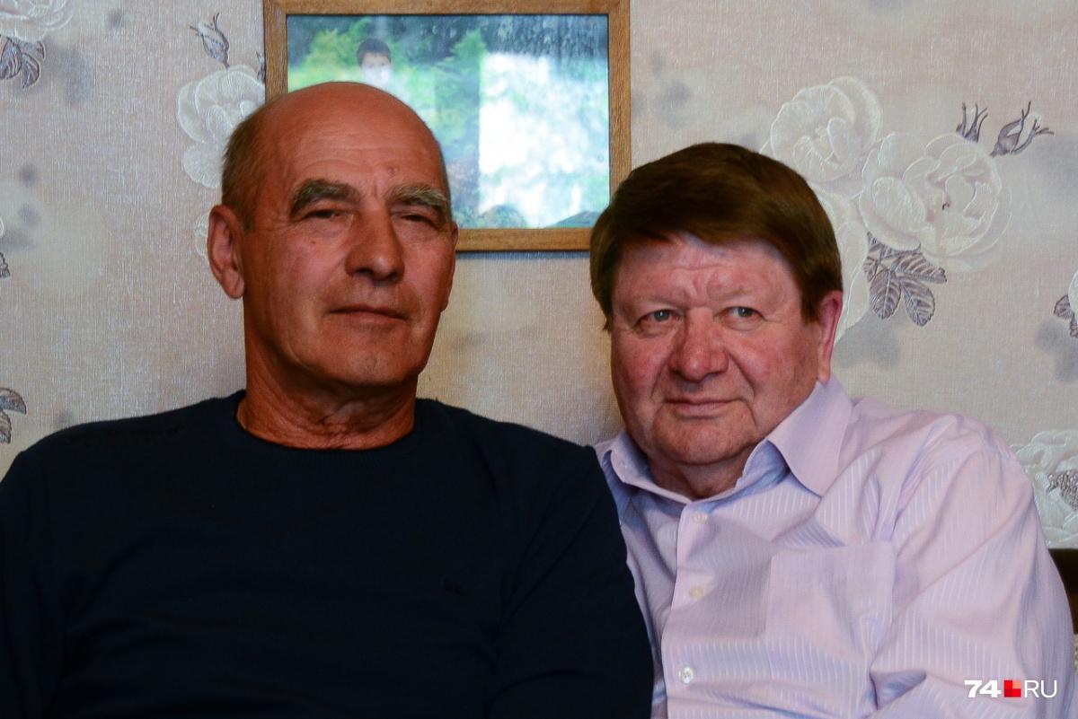 Пилоты Виктор Пашнин (слева) и Сергей Цирулин