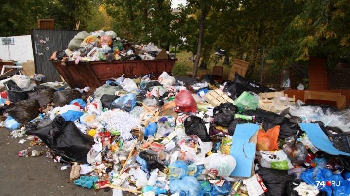 По решению суда в Челябинске закрыли мусороперегрузочный пункт