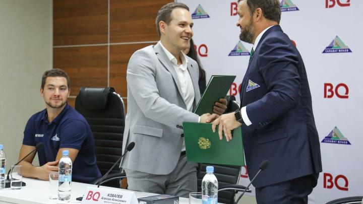 Не просто хоккей: «Салават Юлаев» и бренд BQ решили активно работать с болельщиками