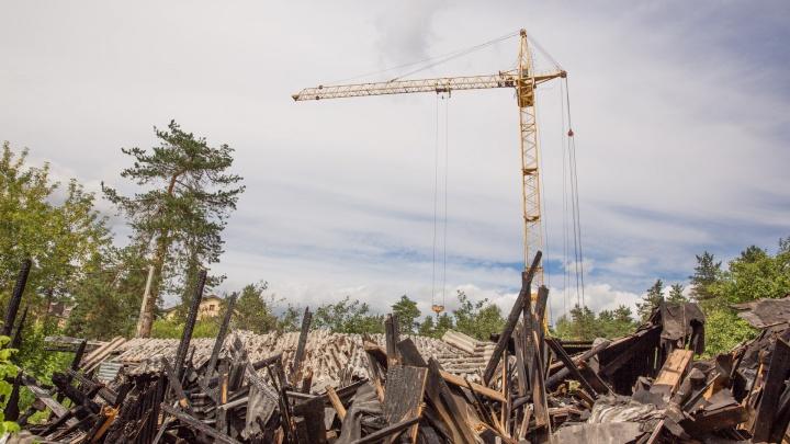 Зачем спалили целый квартал: в Ярославле на месте сгоревших бараков началась масштабная стройка