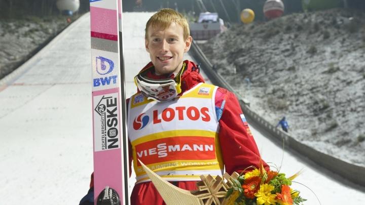 Первая победа России за 39 лет: летающий лыжник из Перми Евгений Климов выиграл открытие Кубка мира