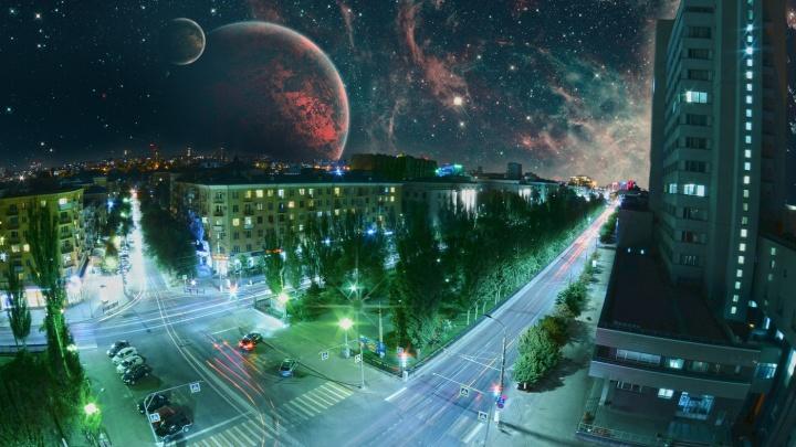 Штурмовики, драконы и каравеллы: смотрим на фантастический Волгоград