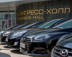 «Хендэ Мотор СНГ» передала автомобили для саммитов ШОС и БРИКС 2015