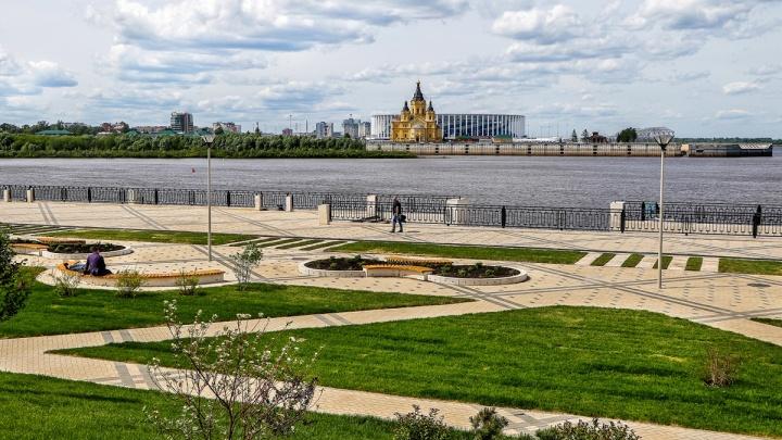 Погода в Нижнем Новгороде. Лето немного понизит градус