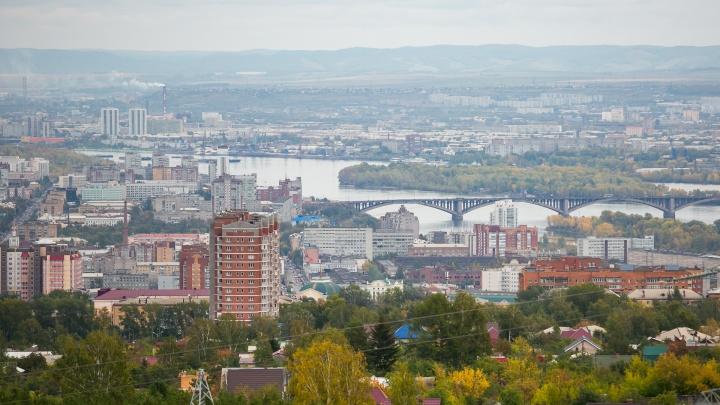 Штормовой ветер налетел на Красноярск. В «Солнечном» уже опрокинулись заборы