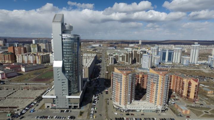 К лету в Красноярске на 40 % выросло число предложений о продаже новостроек
