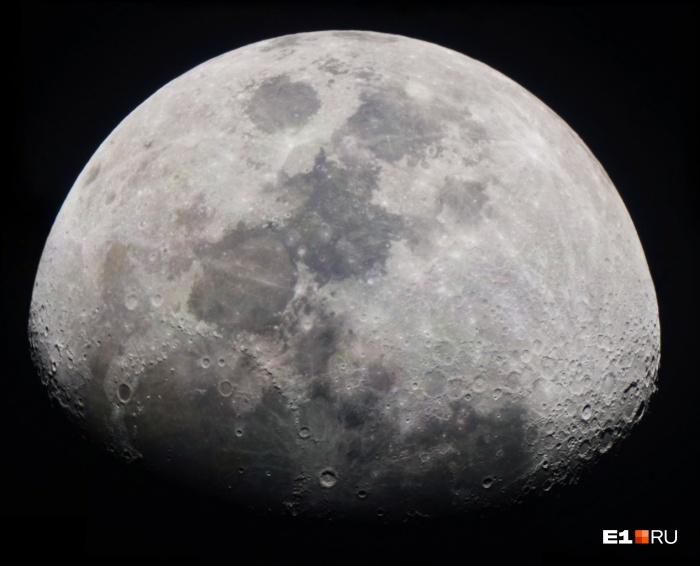 Лунное затмение — редкость