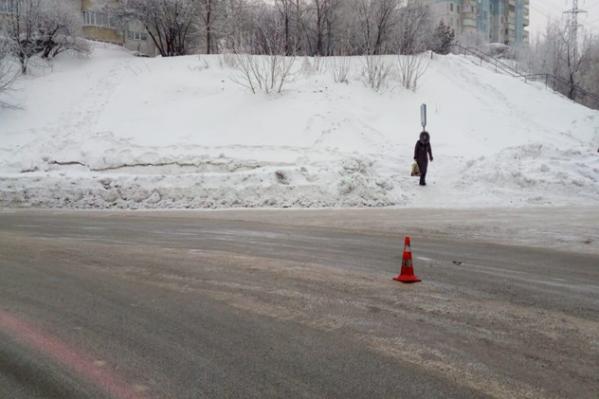 ДТП произошло на улице Лазурной
