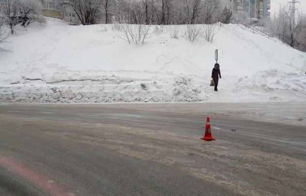 Водитель автобуса маршрута № 96 сбил пешехода на МЖК