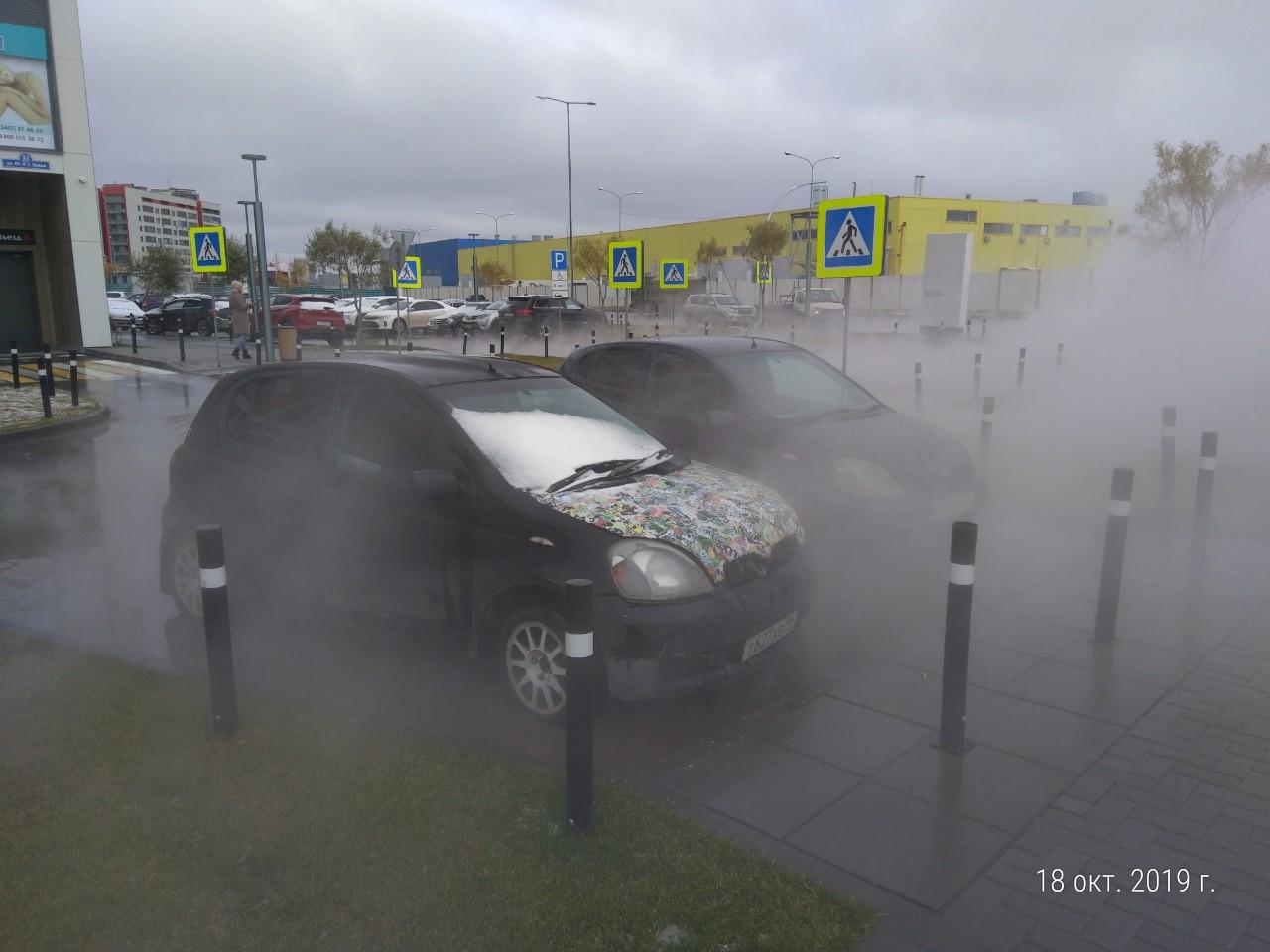 Как будут добираться до своих машин их владельцы, пока непонятно