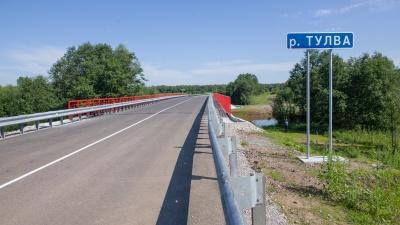 На 50 км короче: в Прикамье открыли обновлённый мост через Тулву
